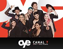 Oye Canal 7 - Gigantografías 1era fase