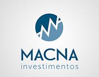 Macna Investimentos - Marca e Identidade Visual
