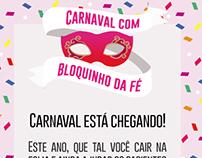 2º Bloquinho da Fé - Carnaval 2017