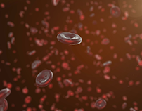 3D Animation - Blood Cells