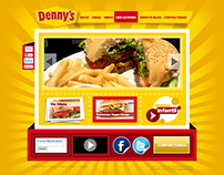 Web Design For Denny's Honduras