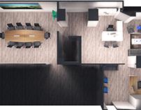diseño y distribución de oficina
