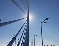 Rayo de luz. Valencia - España