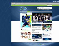 Sada Cruzeiro Vôlei   UI, HTML, CSS, WP