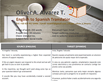 Sample Translation 6 (Email)