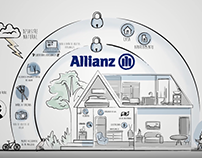 Vídeo ilustrado - Allianz Colombia
