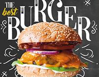 - EAT BURGER -