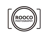 """Logo y tarjetas personales """"Rooco Photography""""."""