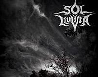 """Afiche """"Sol y lluvia"""" estilo metal"""