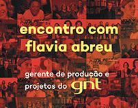 POSTER | Encontro com Flavia Abreu