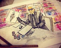 Karl at Work