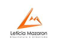 Logo para arquiteta e urbanista Letícia Mazaron