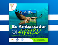 Posters about World Migratory Bird Day