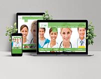 Website de Clínica de Endoscopia