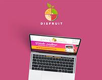 Diseño Web para Disfruit