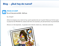 Redacción de Blog: Club Penguin/translation