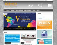 Portal CMS Wordpress IGEHCS-CONICET.gob.ar