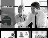 WebSite Administradora Ananda