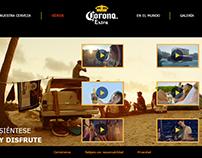Pagina Web - Corona
