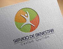 Diseño de Logotipo para Servicio de Bienestar - Quillón