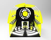 Diseño de stand para empresas de sonido especializado