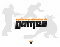 Jogadores Profissionais de Games | Hotsite