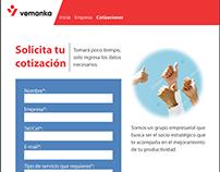 Sitio web - Consultora Vemanka