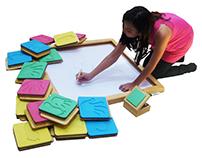 Diseño de ejercitador multifuncional para niños.