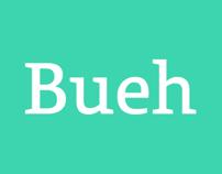 Bueh typeface