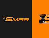 Diseño Logo Marca Club de Moteros SMAR