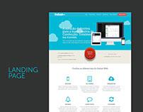 Landing Page - Indust Web