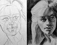 Caricaturas/retratos