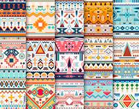 Propuesta de diseño de estampados (patterns).