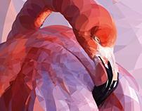 Flamingo circular