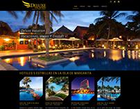 Diseño de Página Web, Empresa Deluxe Vacation C.A