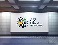 Logo: 43º Prêmio Exportação RS
