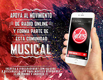 Flyer Campaña VIBES RADIO 507
