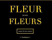Logotipo para Fleur de mes fleurs