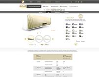 Diseño web Glux