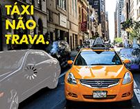 Táxi não trava