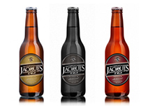 Cerveza Jacques - Rediseño de marca, packaging y piezas