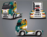 Caminhão Sinotruk - Fórmula Truck