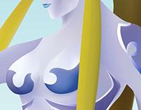 Shiva Illustration / Final Fantasy Vlll