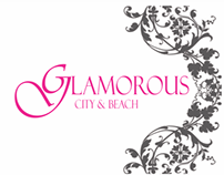 Glamorous City & Beach business cards