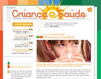 Criança & Saúde - Newsletter