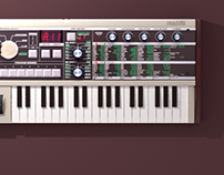 Synth 3d Icon