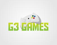 """Criação de logomarca """"G3 GAMES"""""""