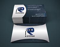 Cartões de visita - R-System
