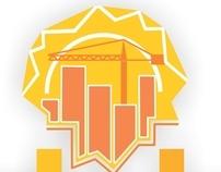 Identidad Visual de Dakar Construcciones