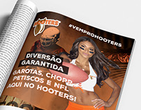 Anúncio - Campeonato NFL no Hooters Brasil